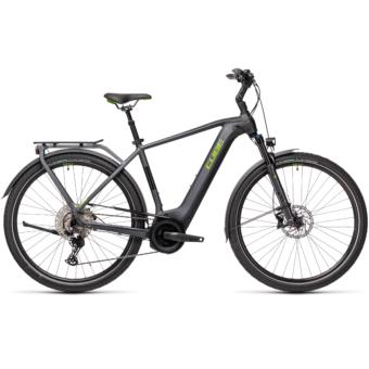 CUBE TOURING HYBRID EXC 625 iridium´n´green Férfi Elektromos Trekking Kerékpár 2021