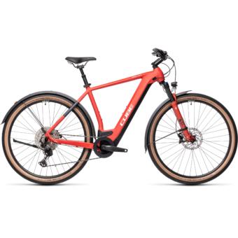 CUBE CROSS HYBRID RACE 625 ALLROAD red´n´grey Férfi Elektromos Cross Trekking Kerékpár 2021