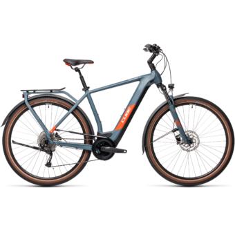 CUBE KATHMANDU HYBRID ONE 500 BLUE´N´RED Férfi Elektromos Trekking Kerékpár 2021