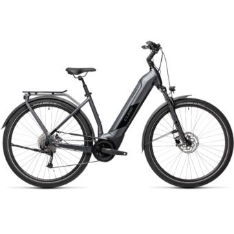 CUBE KATHMANDU HYBRID ONE 500 EASY ENTRY IRIDIUM´N´BLACK Unisex Elektromos Trekking Kerékpár 2021