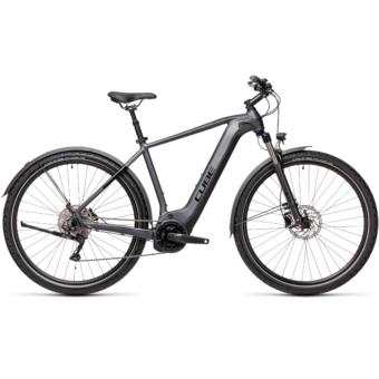 CUBE NATURE HYBRID EXC 625 ALLROAD iridium´n´black Férfi Elektromos Cross Trekking Kerékpár 2021