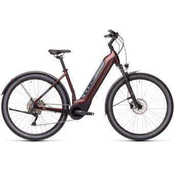 CUBE NURIDE HYBRID PRO 500 ALLROAD berry´n´grey Unisex Elektromos MTB Kerékpár 2021