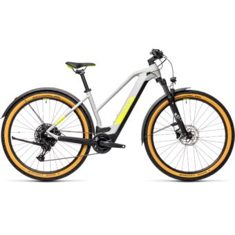 CUBE REACTION HYBRID PRO 625 TRAPÉZ ALLROAD grey´n´yellow Női Elektromos MTB Kerékpár 2021