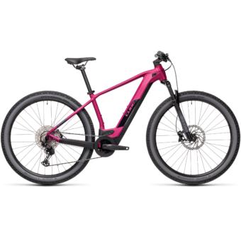 CUBE REACTION HYBRID RACE 625 berry´n´black Férfi Elektromos MTB Kerékpár 2021