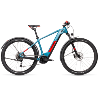 Cube Reaction Hybrid Performance 500 ALLROAD blue´n´red Férfi Elektromos MTB Kerékpár 2021