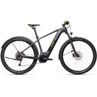 Cube Reaction Hybrid Performance 400 ALLROAD iridium´n´green Férfi Elektromos MTB Kerékpár 2021