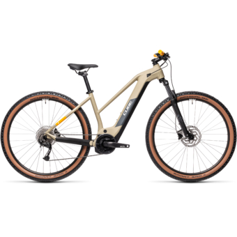 Cube Reaction Hybrid Performance 400 TRAPÉZ desert´n´orange Női Elektromos MTB Kerékpár 2021