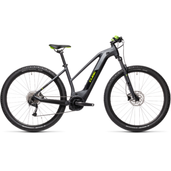 Cube Reaction Hybrid Performance 400 TRAPÉZ iridium´n´green Női Elektromos MTB Kerékpár 2021