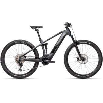 Cube Stereo Hybrid 120 RACE 625 iridium´n´black Férfi Elektromos Összteleszkópos MTB Kerékpár 2021