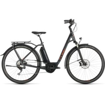 CUBE TOWN SPORT HYBRID Exc 500 Easy Entry Női Elektromos Városi Kerékpár 2019 - Több Színben