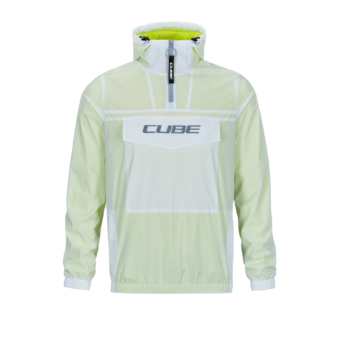 CUBE Pullover Jacket grey´n´neon yellow