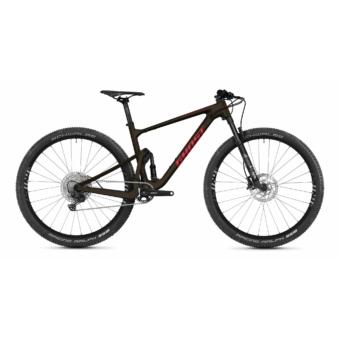 GHOST Lector FS Essential Chocolate Brown / Riot Red Férfi Öszteleszkópos MTB Kerékpár 2021