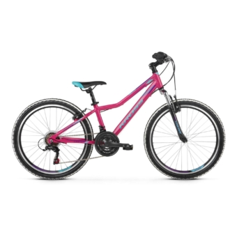 "KROSS Lea JR 1.0 24"" pink / blue / violet 2021"