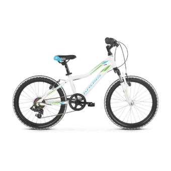 "KROSS Lea Mini 2.0 20"" white / blue / green 2021"
