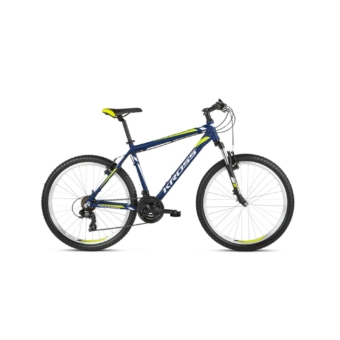 "KROSS Hexagon 26"" navy blue / white / lime 2021"