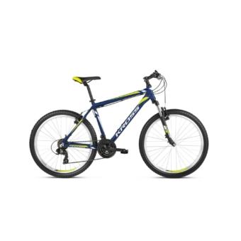 """KROSS Hexagon 26"""" navy blue / white / lime 2021"""
