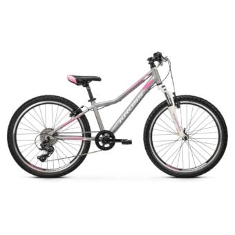 """KROSS Lea JR 2.0 24"""" silver / pink / white 2021"""