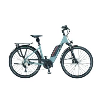 KTM MACINA FUN P 510 epicgrey matt (black+orange) Unisex Elektromos Trekking Kerékpár 2021