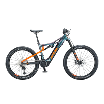 KTM MACINA KAPOHO MASTER Férfi Elektromos Összteleszkópos Enduró MTB Kerékpár 2021