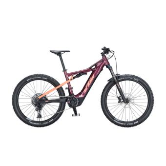 KTM MACINA LYCAN 272 GLORIOUS Női Elektromos Összteleszkópos MTB Kerékpár 2021