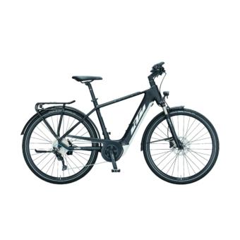 KTM MACINA SPORT P610 black matt (white+blue) Férfi Elektromos Trekking Kerékpár 2021