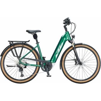 KTM MACINA STYLE 620 EASY ENTRY racing green (silver+copper) Unisex Elektromos Trekking Kerékpár 2021