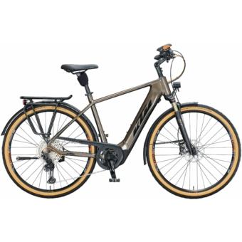 Ktm Macina Style 610 NYON oak (black+orange) Férfi Elektromos Trekking Kerékpár 2021
