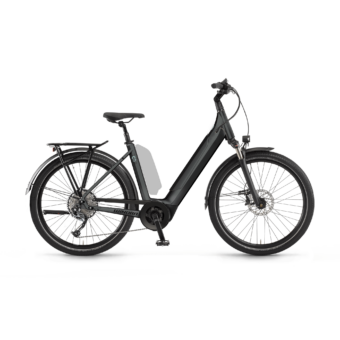 "Winora Sinus 9 i625 27.5"" EASY ENTRY Darkslategrey Unisex Elektromos Trekking Kerékpár 2021"