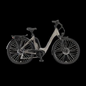 "Winora Tria 8 400 28"" Sandstone EASY ENTRY Unisex Elektromos Trekking Kerékpár 2021"
