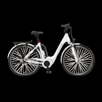 """Winora Tria N7 400 26"""" White EASY ENTRY Unisex Elektromos Városi Kerékpár 2021"""