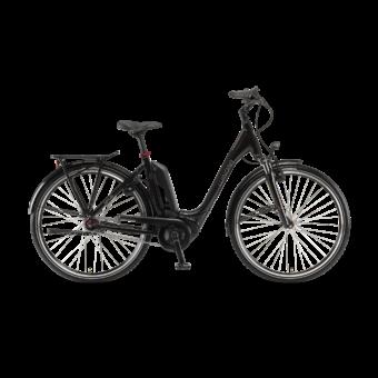"Winora Tria N7eco 400 26"" Onyxblack EASY ENTRY Unisex Elektromos Kerékpár 2021"