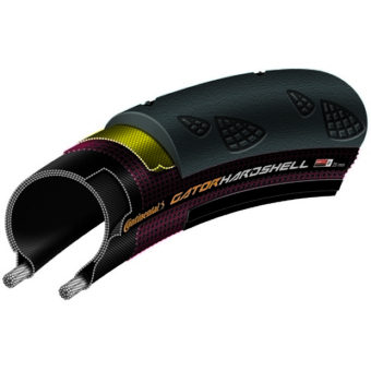 Continental gumiabroncs kerékpárhoz 28-622 GatorHardshell  700x28C fekete/fekete, DuraSkin