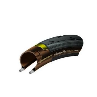 Continental gumiabroncs kerékpárhoz 25-622 Grand Prix classic 700x25C fekete/transzparent, Skin hajtogathatós