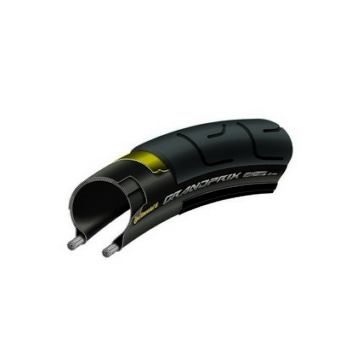 Continental gumiabroncs kerékpárhoz 23-622 Grand Prix 700x23C fekete/fekete, Skin hajtogathatós