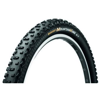 Continental gumiabroncs kerékpárhoz 60-584 Mountain King II 2.4 ProTection  27,5x2,4 fekete/fekete, Skin hajtogathatós