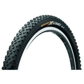 Continental gumiabroncs kerékpárhoz 60-584 X-King 2.4 ProTection 27,5x2,4 fekete/fekete, Skin hajtogathatós