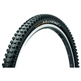 Continental gumiabroncs kerékpárhoz 47-584 Mud King ProTection 1.8  27,5x1,8 fekete/fekete, Skin hajtogathatós