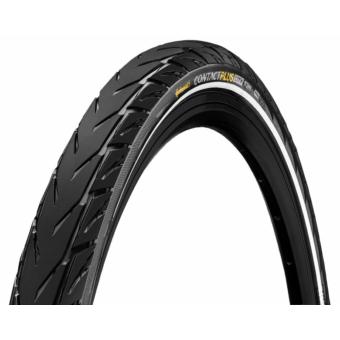 Continental gumiabroncs kerékpárhoz 55-584 Contact Plus City 27,5x2,20 fekete/fekete, reflektoros