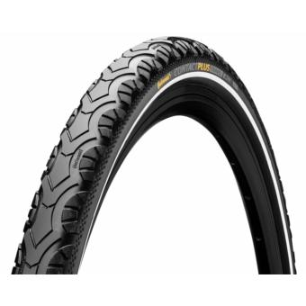 Continental gumiabroncs kerékpárhoz 47-622 Contact Plus Travel 28x1,75 fekete/fekete, reflektoros