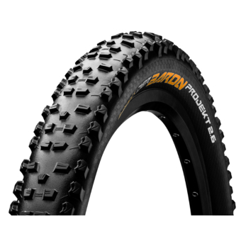 Continental gumiabroncs kerékpárhoz 65-584 Der Baron Projekt Protection Apex 2,6  27,5x2,6 fekete/fekete, Skin hajtogathatós
