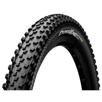 Continental gumiabroncs kerékpárhoz 65-584 Cross King 2.6 Protection 27,5x2,6 fekete/fekete, Skin hajtogathatós