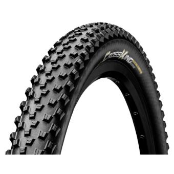 Continental gumiabroncs kerékpárhoz 55-584 Cross King 2.2 RaceSport  27,5x2,2 fekete/fekete, Skin hajtogathatós