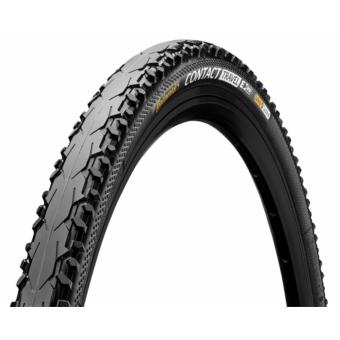 Continental gumiabroncs kerékpárhoz 42-622 Contact Travel 28x1,6 fekete/fekete, Skin