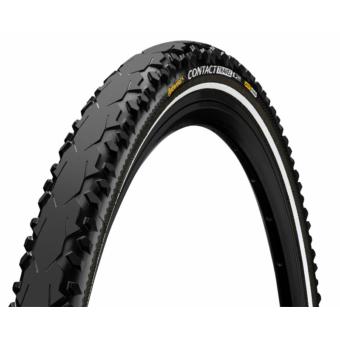 Continental gumiabroncs kerékpárhoz 42-622 Contact Travel 28x1,6 fekete/fekete, reflektoros