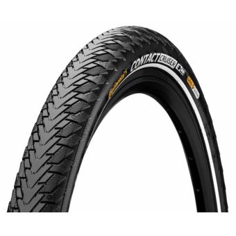 Continental gumiabroncs kerékpárhoz 50-622 Contact Cruiser 28x2,0 fekete/fekete, reflektoros