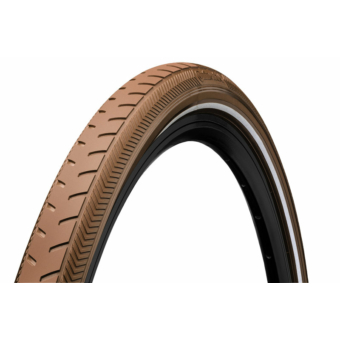 Continental gumiabroncs kerékpárhoz 37-622 RIDE Classic 28x1 3/8x1 5/8 barna/barna, reflektoros