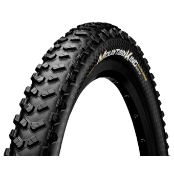 Continental gumiabroncs kerékpárhoz 65-584 Mountain King 2.6 ProTection Apex 27,5x2,6 fekete/fekete, hajtogathatós