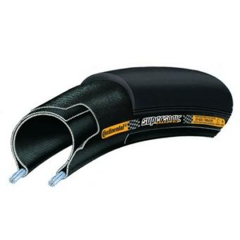 Continental gumiabroncs kerékpárhoz 20-622 Grand Prix Supersonic 700x20C fekete/fekete, Skin hajtogathatós