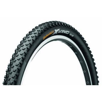 Continental gumiabroncs kerékpárhoz 55-584 X-King 2.2  27,5x2,2 fekete/fekete, Skin hajtogathatós