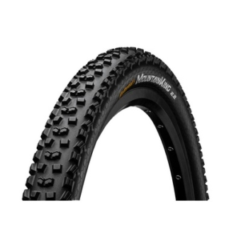 Continental gumiabroncs kerékpárhoz 55-584 Mountain King II 2.2 Performance 27,5x2,2 fekete/fekete, Skin